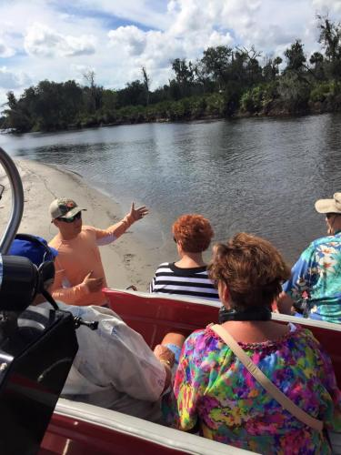 Airboat tour rides Florida alligators kolton